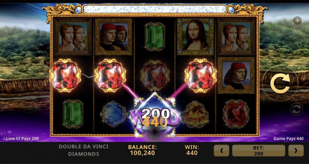 Double Da Vinci Diamonds-พนัน