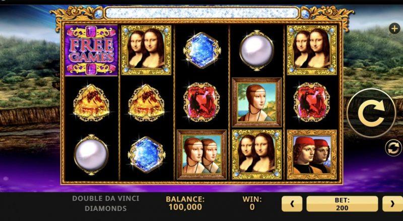 Double Da Vinci Diamonds-เกม